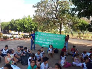 RS7- Ação no VerdeAzul de Educação Ambiental - foco em: ações de Sensibilização e Mobilização para a Coleta Seletiva